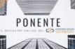 Oggi nasce PONENTE, il magazine online del Centro Studi Occidentali